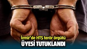 İzmir'de HTŞ terör örgütü üyesi tutuklandı