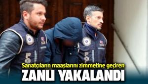 İzmir'de sanatçıların maaşlarını zimmetine geçiren mutemet adliyede