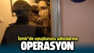 İzmir'de uyuşturucu satıcılarına operasyon: 18 gözaltı