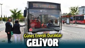 İzmir'e güneş enerjili duraklar geliyor