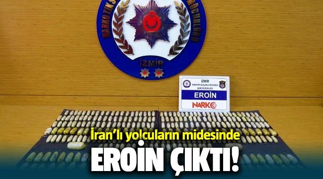 İzmir Havalimanı'nda İranlı yolcuların midesinden eroin çıktı