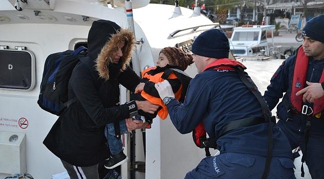 İzmir'de 75 kaçak göçmen yakalandı