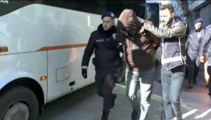 İzmir'deki suç örgütü operasyonunda 15 şüpheli tutuklandı
