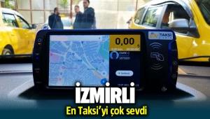 İzmirliler EnTaksi'yi çok sevdi