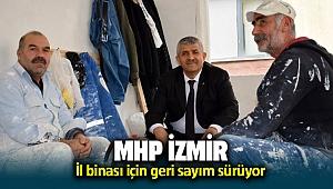 MHP İzmir'in il binası için geri sayım sürüyor