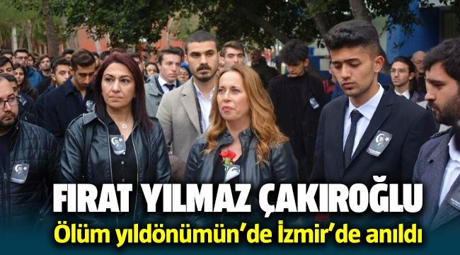Ülkücü Şehit Fırat Yılmaz Çakıroğlu ölümünün 5. yılında İzmir'de anıldı
