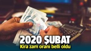 2020 Şubat ayı kira zam oranı belli oldu