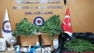 İzmir'de drone destekli zehir operasyonu