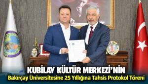 Menemen Belediyesi Bakırçay Üniversitesi ile protokol imzaladı