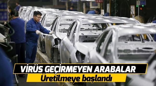 Virüs geçirmeyen arabalar üretilmeye başlandı