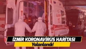 İzmir Koronavirüs Haritası yalanlandı