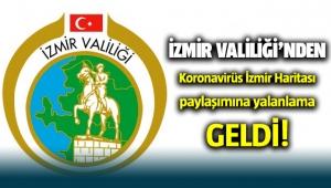 İzmir Valiliği'nden 'koronavirüs izmir ilçe sayısı' paylaşımına açıklama geldi