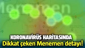 Koronavirüs haritasında dikkat çeken Menemen detayı!