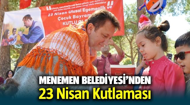 Menemen Belediye Başkanı Serdar Aksoy'dan 23 Nisan kutlaması