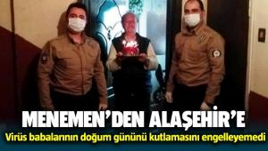 Menemen'den Alaşehir'e doğum günü pastası