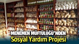 Menemen Müftülüğü'nden Sosyal Yardım Projesi