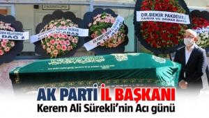 AK Parti İl Başkanı Sürekli'nin annesi toprağa verildi