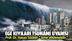 Ege kıyıları ve İzmir için tsunami uyarısı
