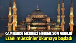 İzmir'de camilerde merkezi sisteme son verildi, ezanı müezzinler okumaya başladı