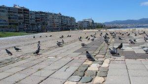 İzmir, kısıtlamanın ilk gününde boş kaldı