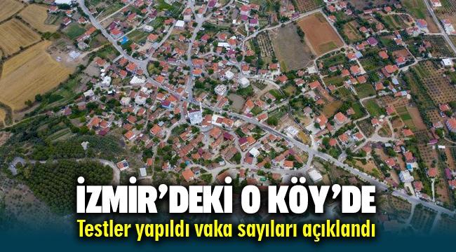 İzmir Menderes'te kısıtlama bölgesinde vaka sayıları belli oldu
