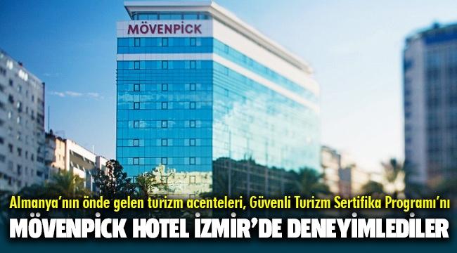 Almanya'nın önde gelen turizm acenteleri, Güvenli Turizm Sertifika Programı'nı Mövenpick Hotel Izmir'de deneyimlediler