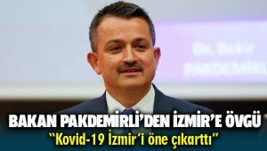 Bakan Pakdemirli 'herkes yerleşmeye çalışıyor' dedi: Kovid-19, İzmir'i öne çıkarttı