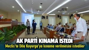 Dila Koyurga için Karabağlar Belediye Meclisinde AK Partililer kınama istedi