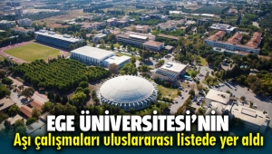 Ege Üniversitesi'nin aşı çalışması uluslararası listede yerini aldı