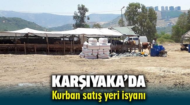 Karşıyaka'nın o mahallesinde kurban satış yeri isyanı