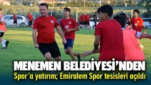 Menemen Belediyesi'nden Spor'a Yatırım