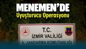 Menemen ve Dikili ilçelerinde uyuşturucu operasyonu