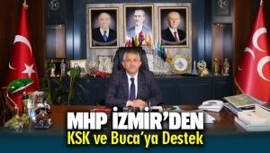 MHP'den KSK ve Buca'ya Destek