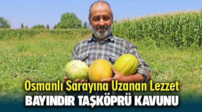 OSMANLI SARAYINA UZANAN LEZZET; 'BAYINDIR TAŞKÖPRÜ KAVUNU'