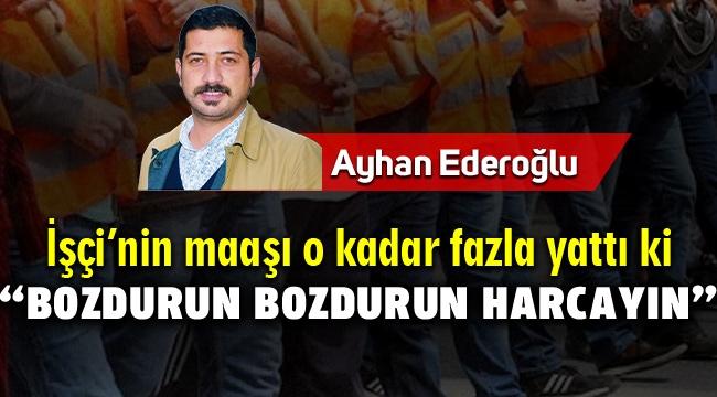 Ayhan Ederoğlu Yazdı.. Menemen Belediye İşçileri maaş alamıyor!