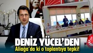 Deniz Yücel'den Aliağa'daki AK Parti toplantısına tepki