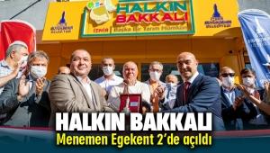 Halkın Bakkalı Menemen Egekent 2 'de açıldı