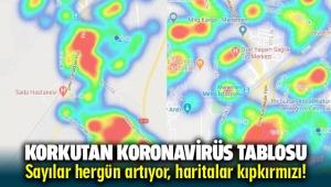 Menemen, Bergama, Aliağa ve Foça ilçelerindekoronavirüs risk haritası güncellendi