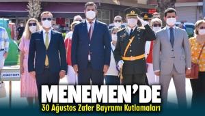 Menemen'de Büyük Zafer'in 98.Yılı (Covid-19 Tedbirleriyle) Kutlandı