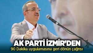 AK Parti'den İzmir'deki toplu ulaşımda