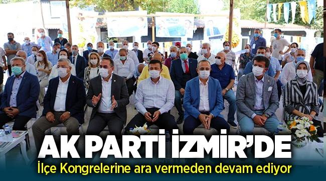 AK Parti İzmir'de iki ilçede kongre heyecanı devam ediyor