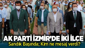 AK Parti İzmir'de kongre heyecanı Menderes ve Karabağlar'da devam etti