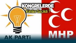 AK Parti ve MHP'den kongre raporu: Pazar Günü Kimler seçildi?