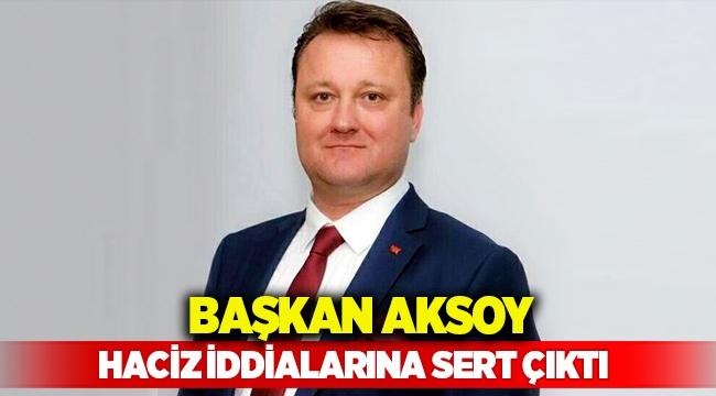 Başkan Aksoy'dan haciz iddialarına sert tepki: 'Algı yaratmaya çalışıyorlar!'