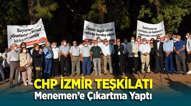 CHP İzmir Teşkilatı Menemen'e Çıkartma Yaptı