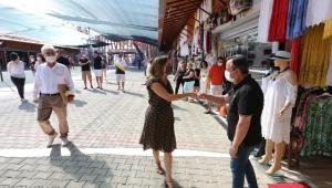 Efes Esnafı Selçuk Belediye Başkanı Sengel'e Teşekkür Etti