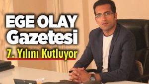 Ege Olay Gazetesi 7 yaşında