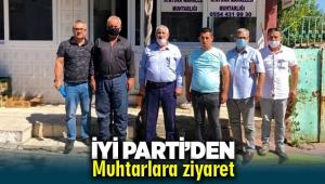 İYİ Parti'den Muhtarlara ziyaret