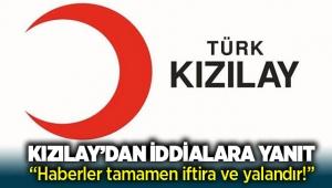 Kızılay'dan İzmir'deki kayıp kart iddialarına yalanlama geldi