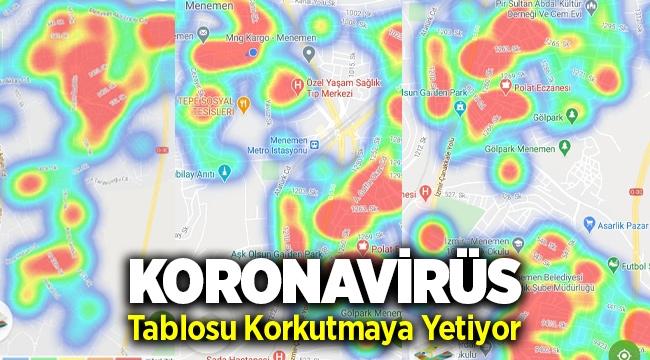 Menemen'in Koronavirüs Tablosu Korkutuyor